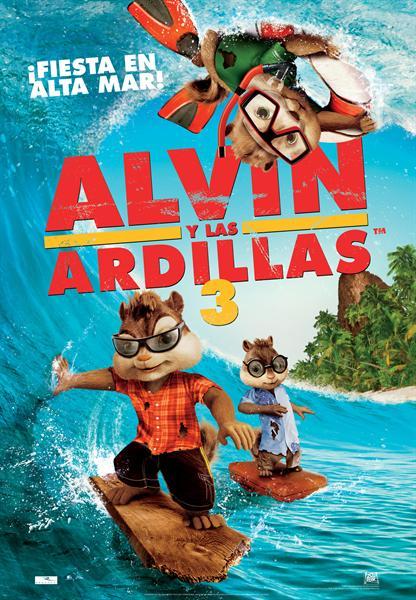 Alvin y las ardillas 3 en la cartelera de el pa s for Distribuidora de recambios badajoz
