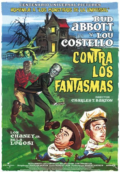 Abbot y Costello contra los Fantasmas