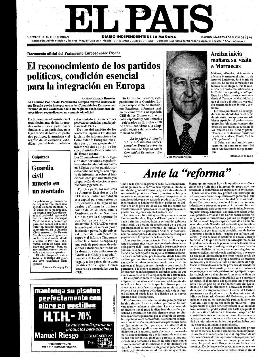4 de Mayo de 1976
