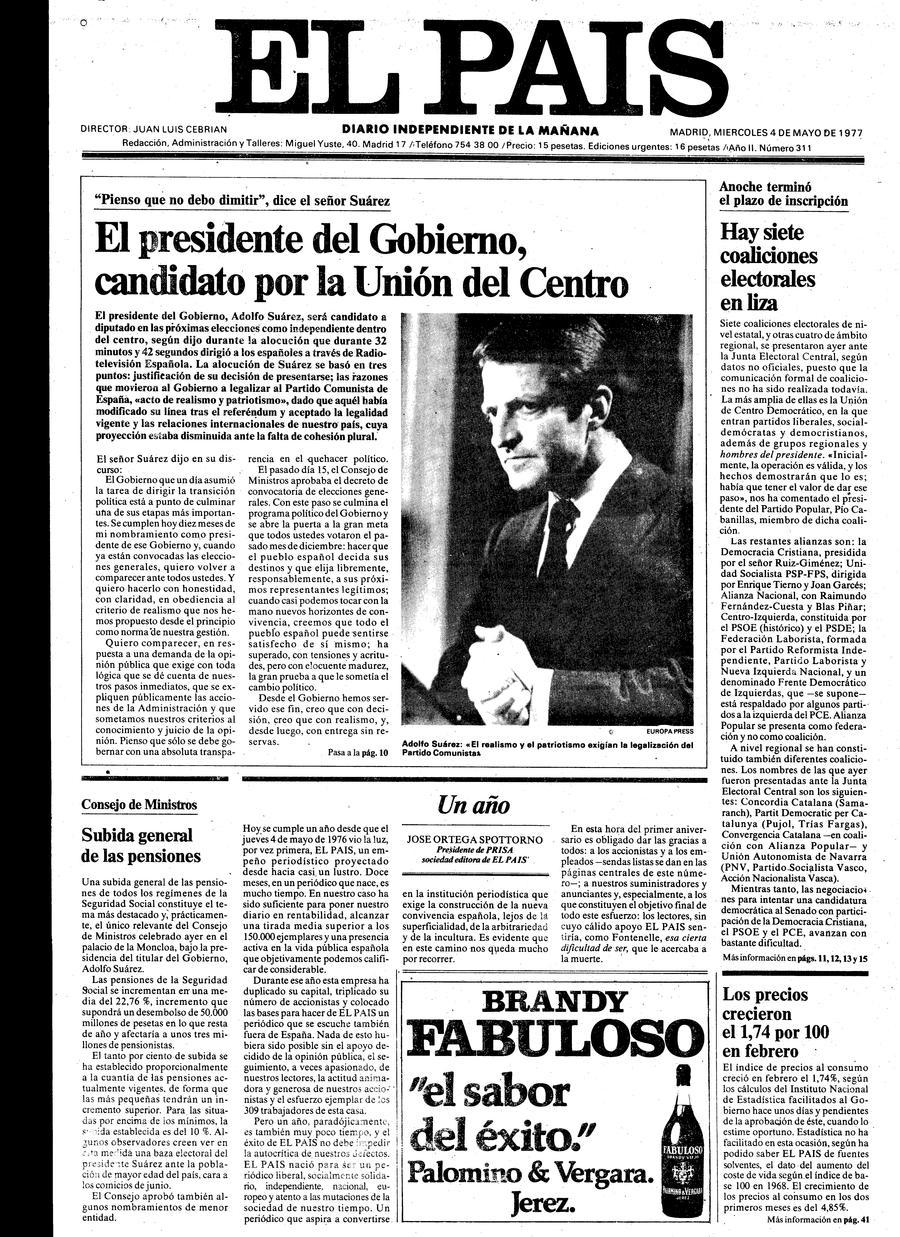 4 de Mayo de 1977