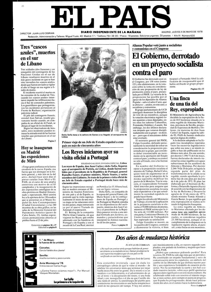 4 de Mayo de 1978