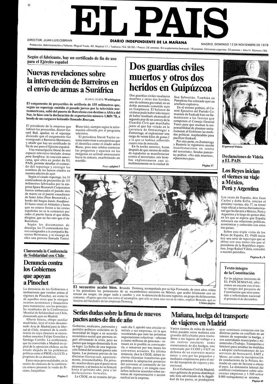 12 de Noviembre de 1978