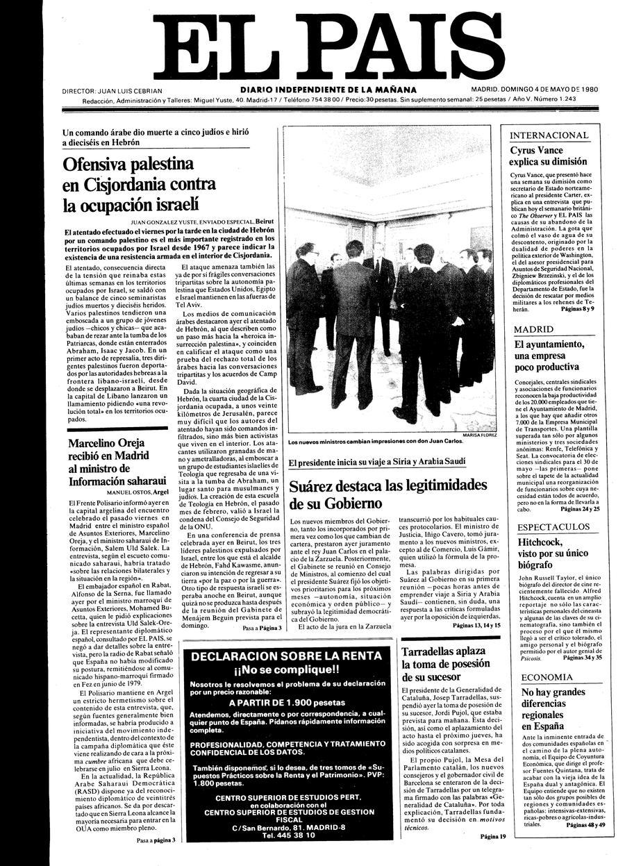 4 de Mayo de 1980