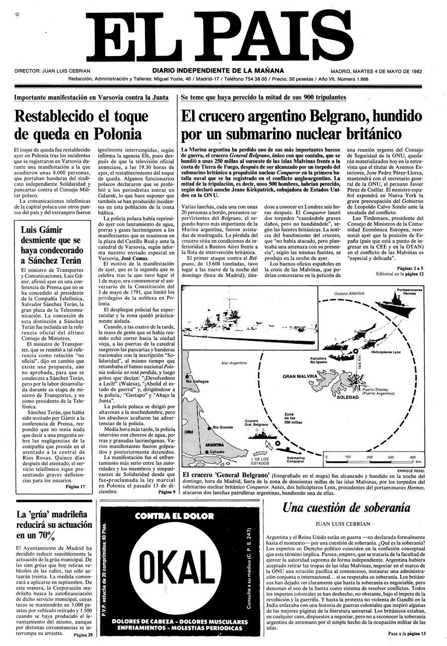 4 de Mayo de 1982