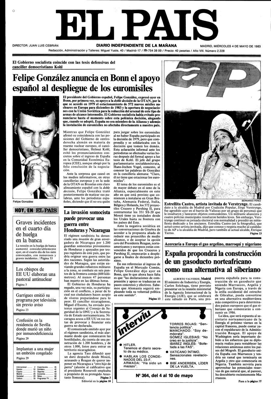 4 de Mayo de 1983