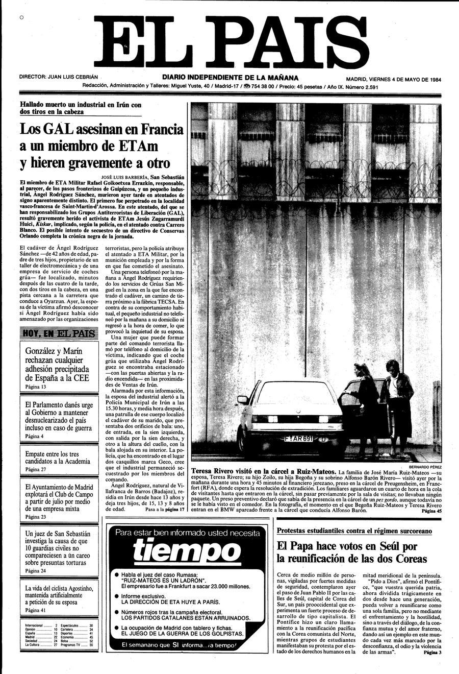 4 de Mayo de 1984