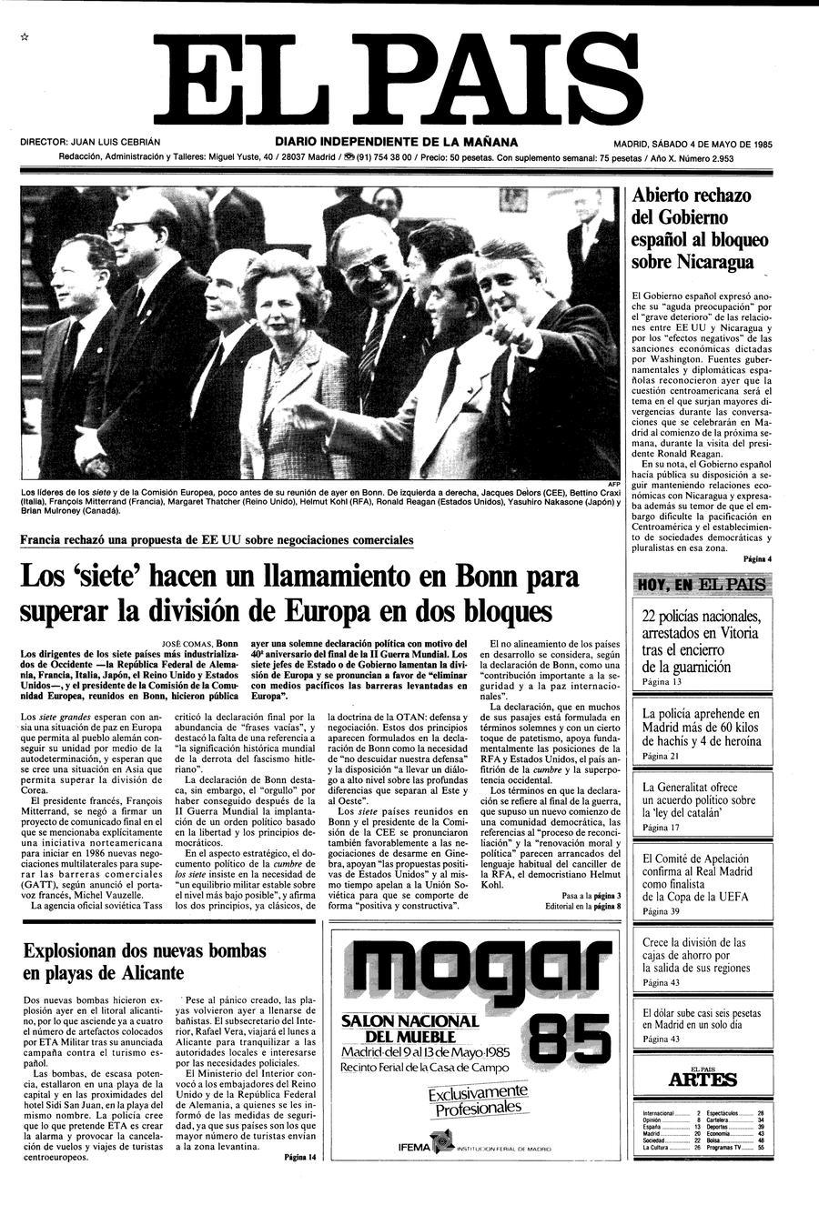 4 de Mayo de 1985