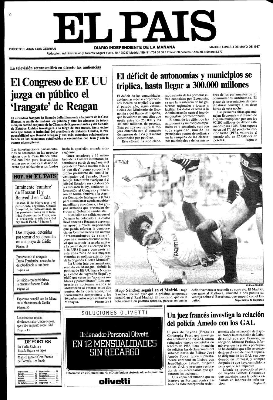 4 de Mayo de 1987