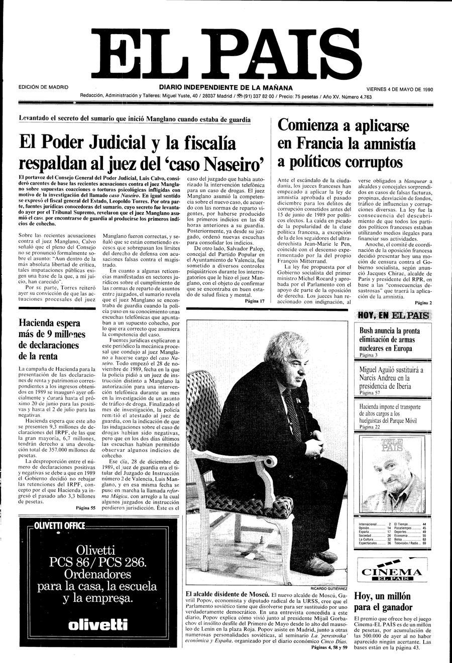 4 de Mayo de 1990