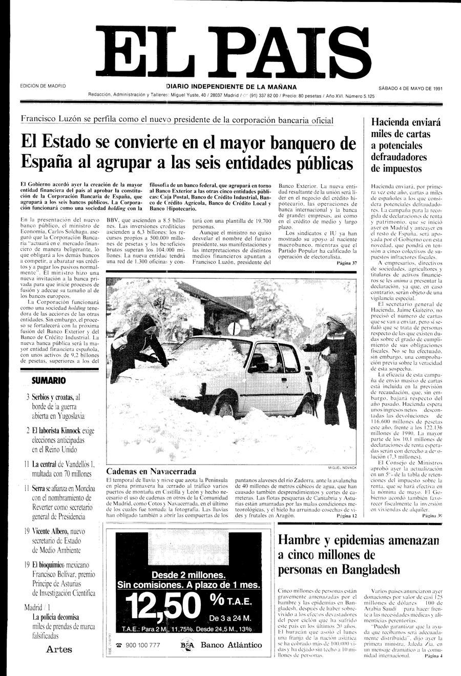 4 de Mayo de 1991