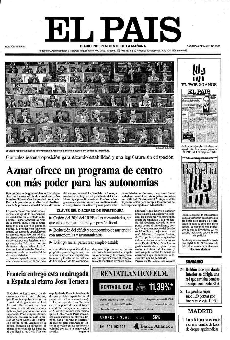 4 de Mayo de 1996