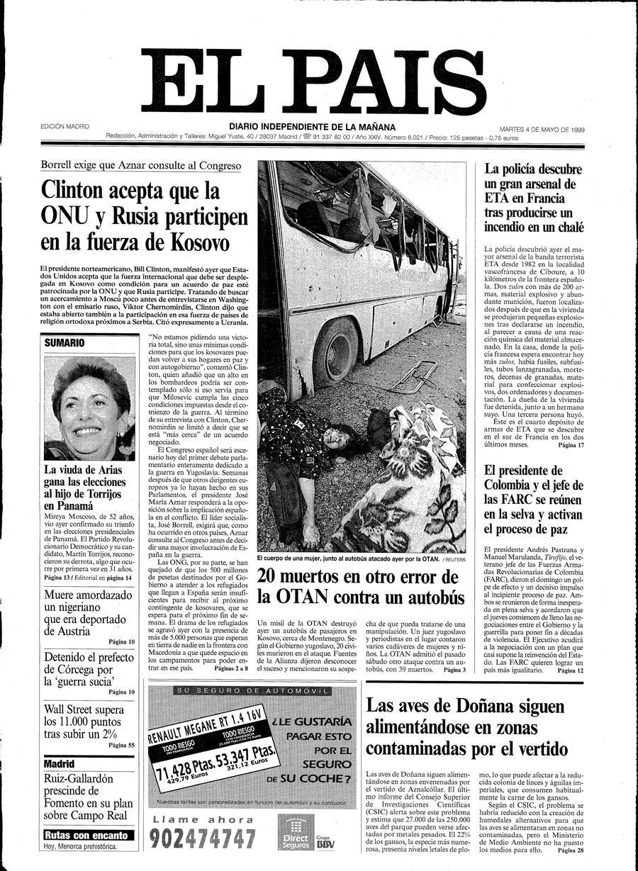 4 de Mayo de 1999