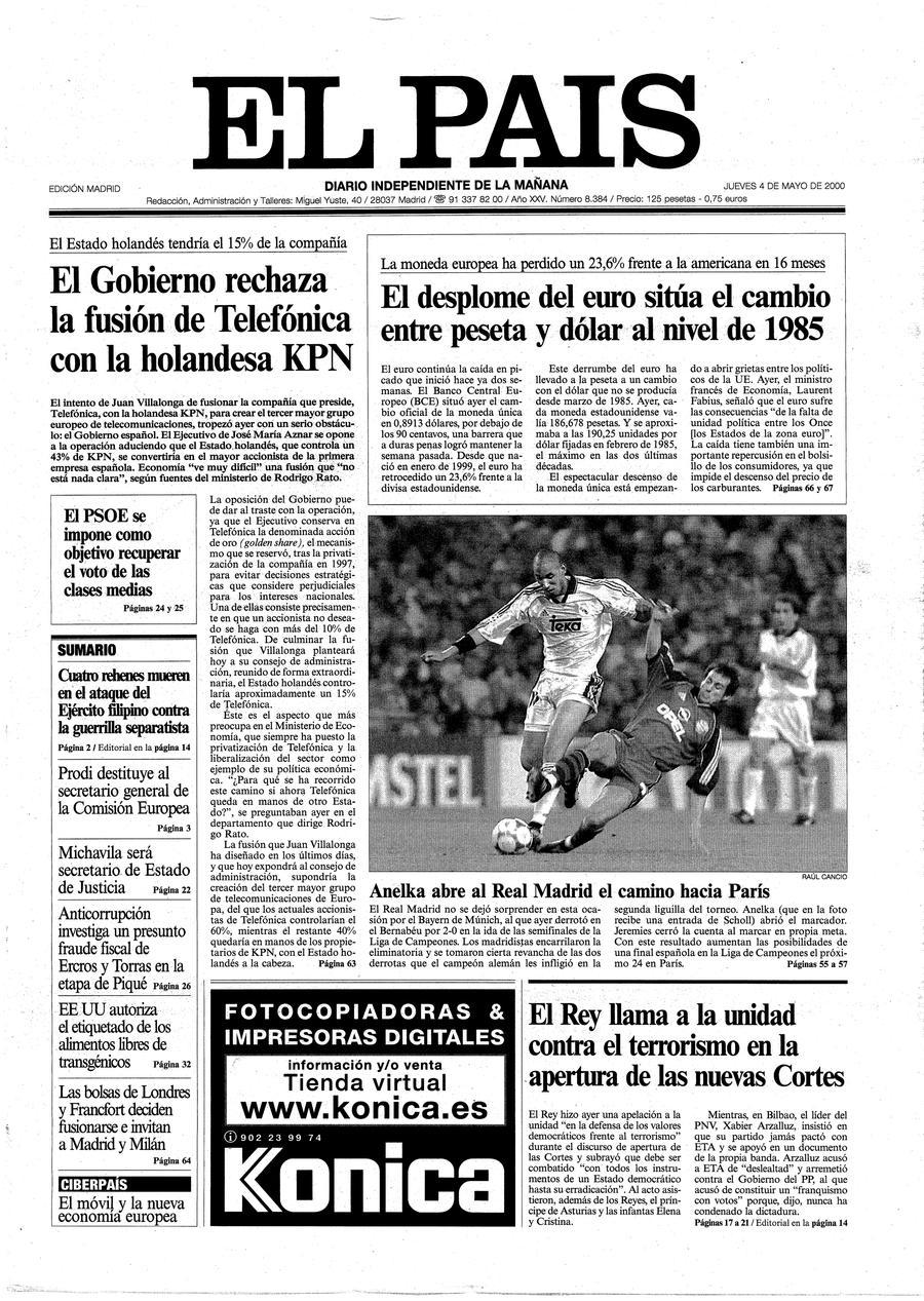 4 de Mayo de 2000
