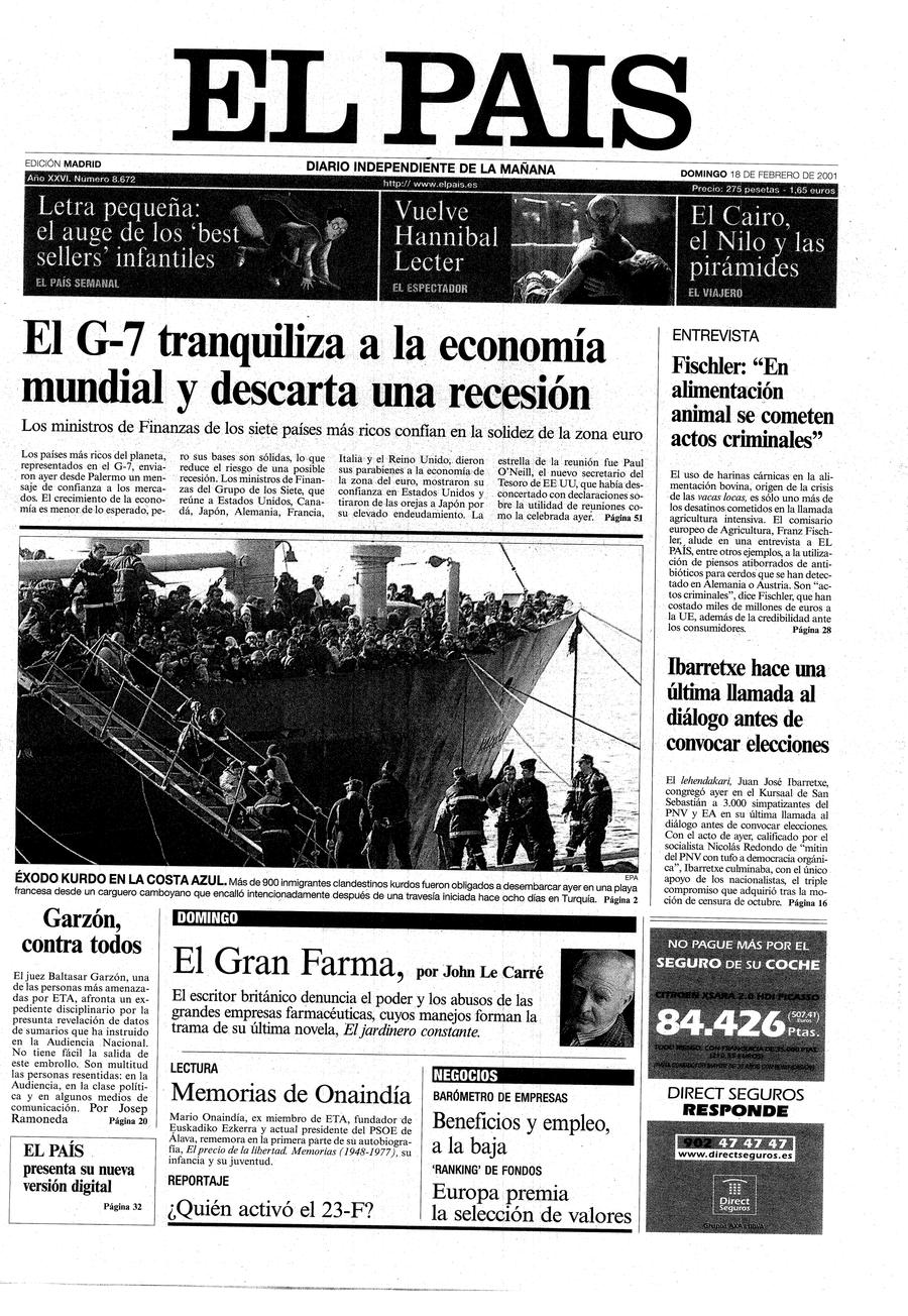 17 de febrero de 1988: