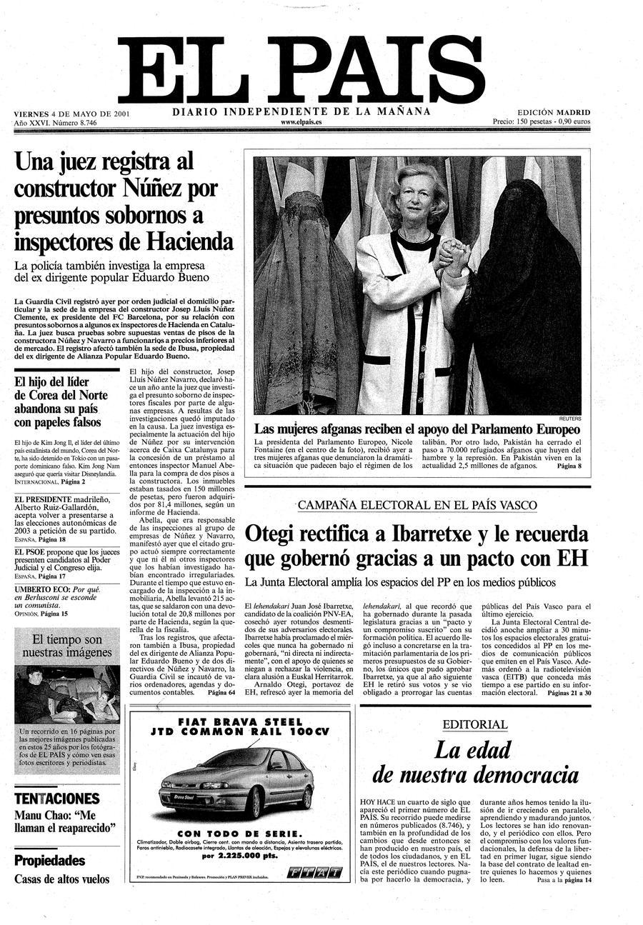 4 de Mayo de 2001