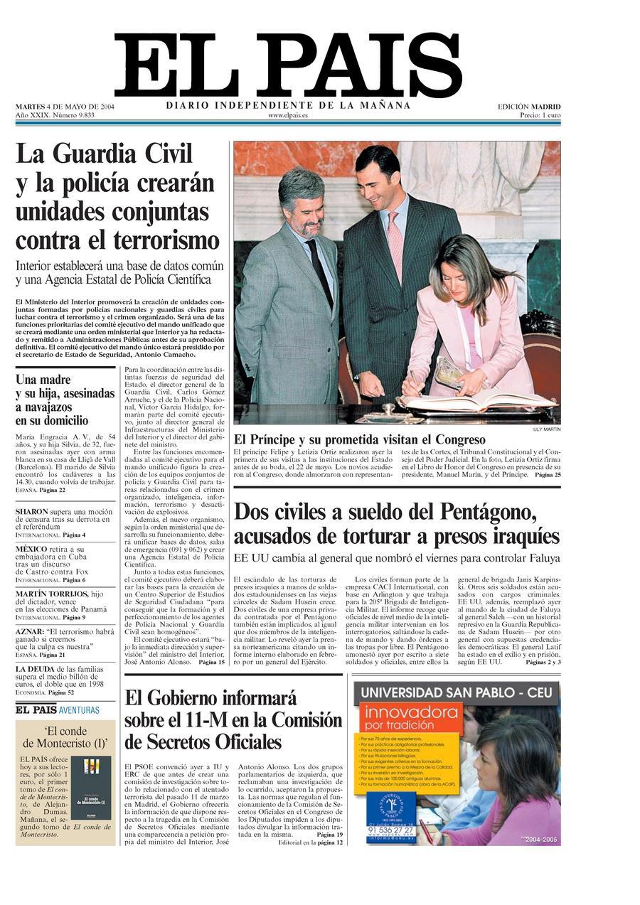 4 de Mayo de 2004