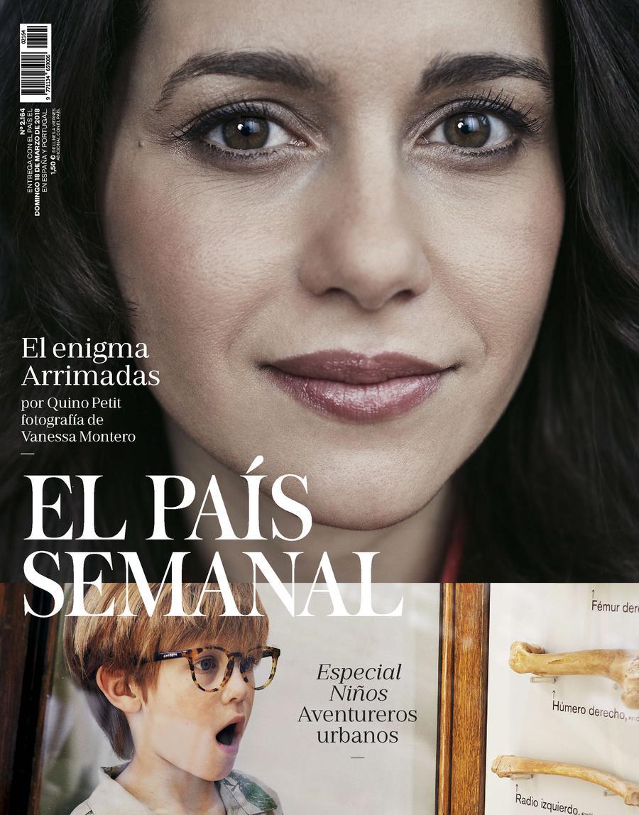 Portada de EL PAÍS Semanal del 18-03-2018
