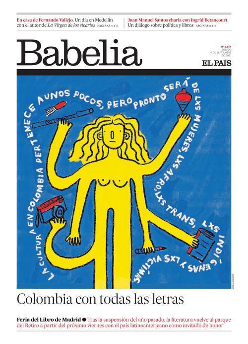 Babelia - Portada del 04 septiembre 2021
