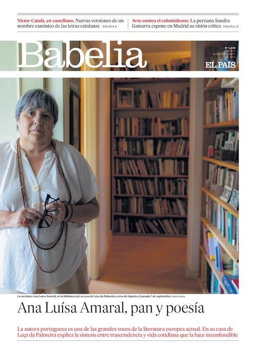 Babelia - Portada del 18 septiembre 2021